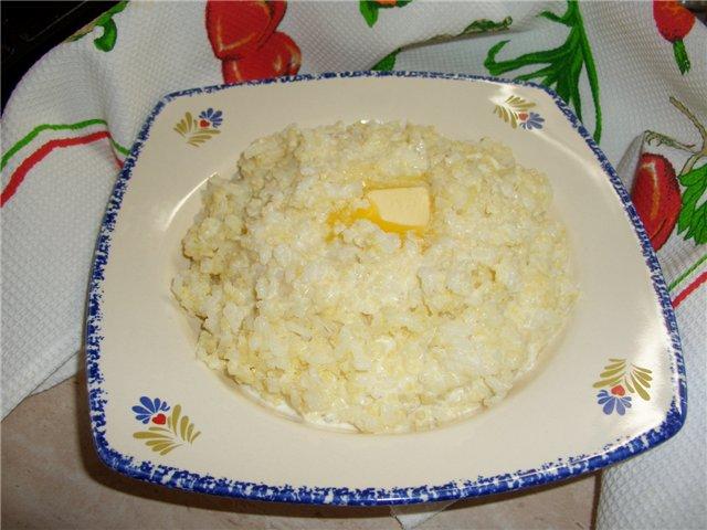 Рисово-пшенная каша рецепт