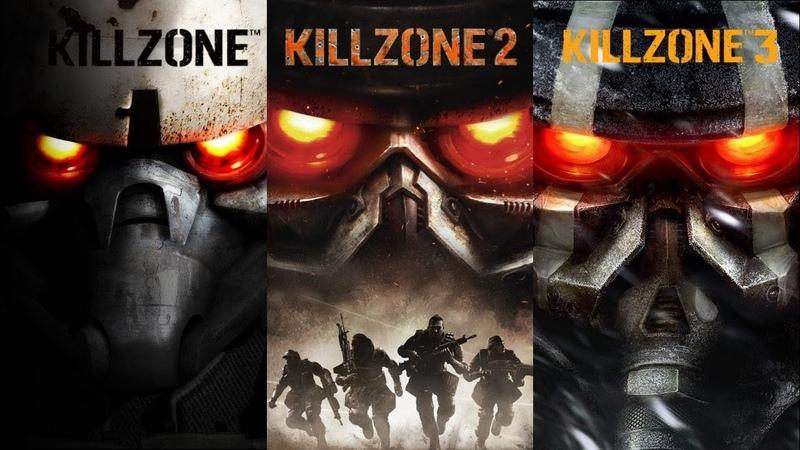 Killzone Saga Game Movie (All Cutscenes) 1080p 2004 - 2013