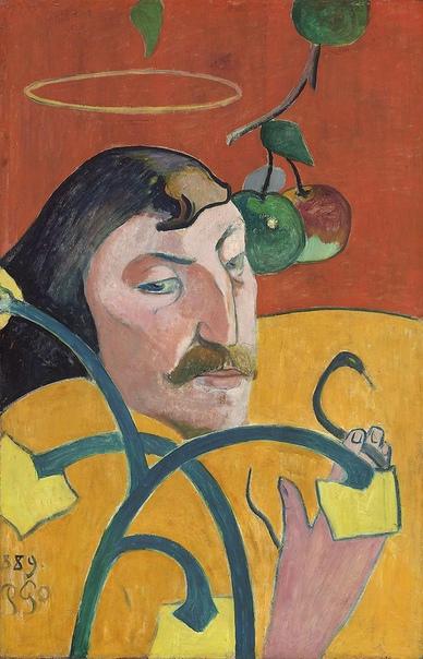 « одного шедевра». «Автопортрет-гротеск», Поль Гоген