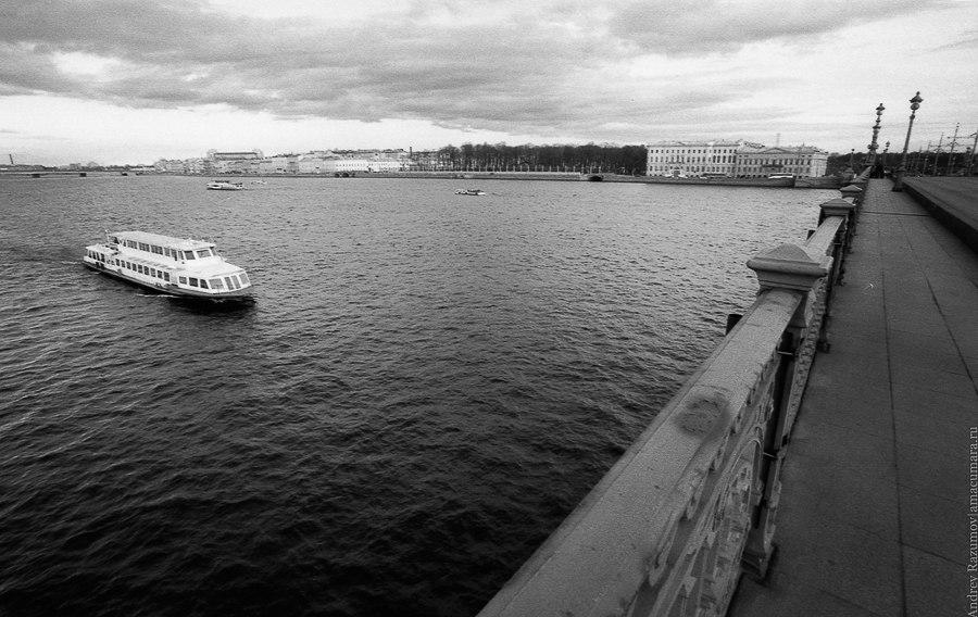 Черно-белый Санкт-Петербург
