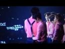 EXO'luXion in Dalian Baekhyun tucking in Sehun shirt
