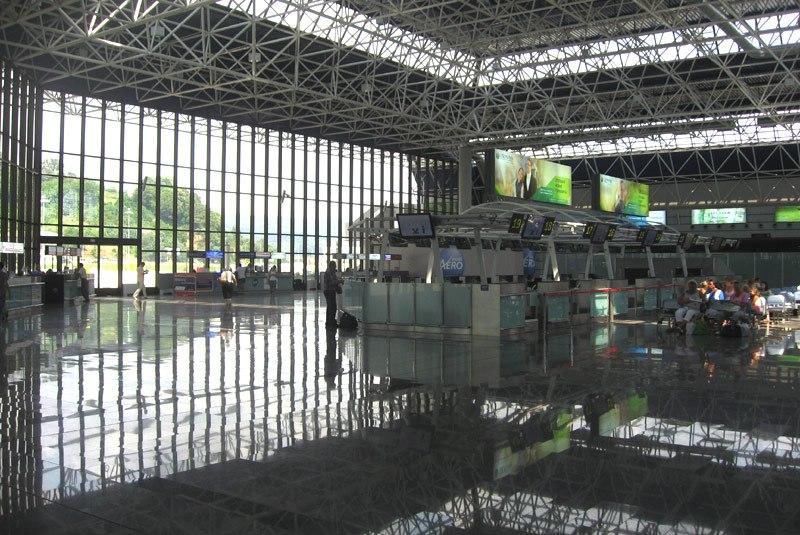 Ароматы в аэропорту Сочи