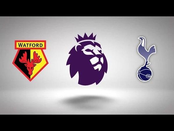 1st Season EPL 33rd Matchday Watford Tottenham