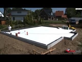Как делают фундамент в Германии