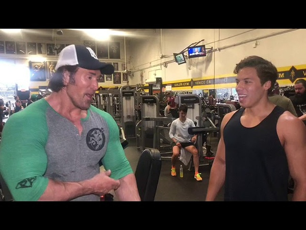 Arnold Schwarzenegger's genetics or mind set? Joseph has both PART 1