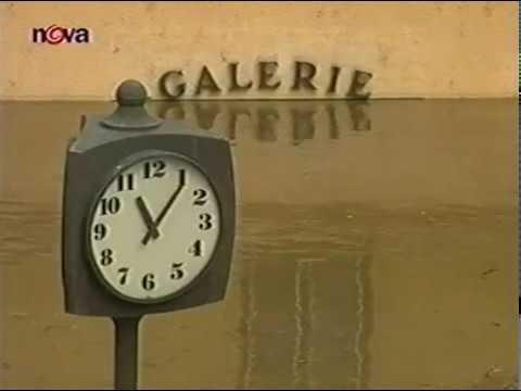 Povodně 2002 - Televizní noviny 14.08.2002