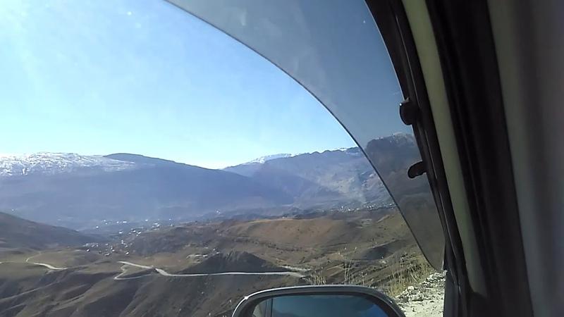 Спуск с перевала Грозный-Ботлих, ноябрь 2018 | туризм в Дагестане