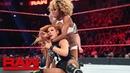 Becky Lynch vs Alicia Fox Raw April 22 2019