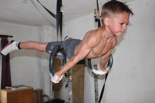 кольца гимнастические регулируемые