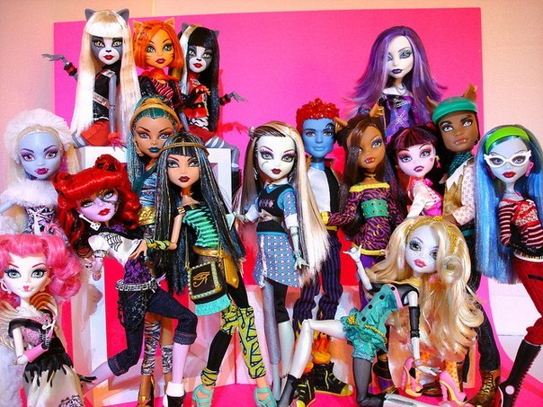 куклы набор монстр хай