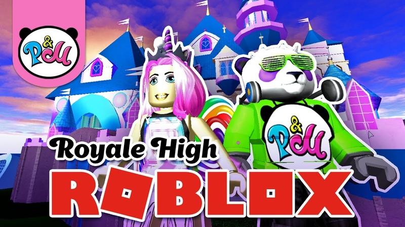 ИГРА РОБЛОКС Новая Королевская школа GAME ROBLOX Royale High school new