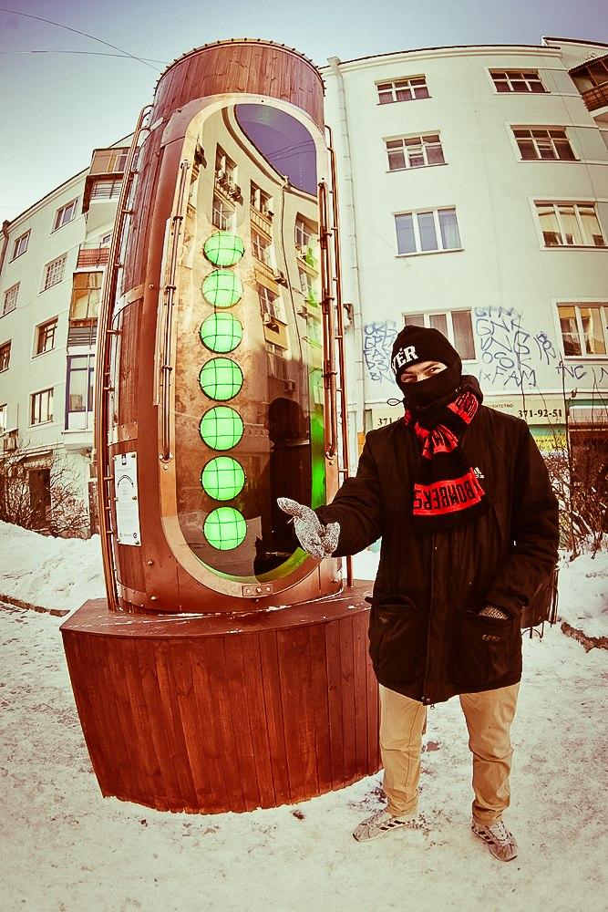 Барометр настроения в стиле стимпанк появился в Екатеринбурге (Фото 22)