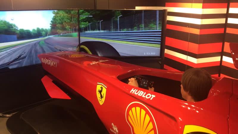 Быстрый круг по Monza