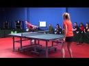 Уроки настольного тенниса на Новой Риге. Урок 4.