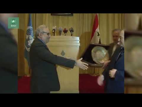 ФАН публикует видео встречи замглавы МИД САР и координатора ООН по Сирии