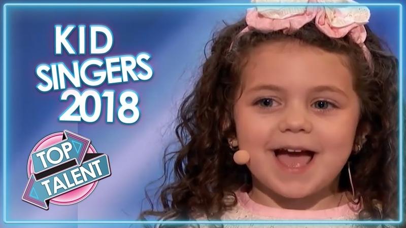 KID SINGERS On 2018 Got Talent Top Talent