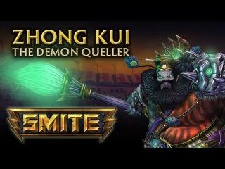 SMITE - God Reveal - Zhong Kui, The Demon Queller