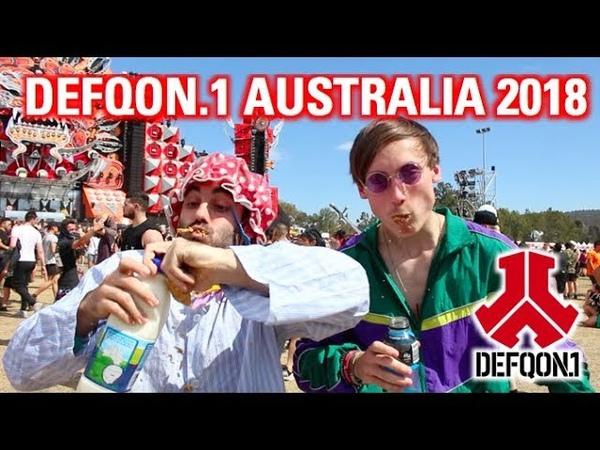 Slendy @ Defqon.1 Australia 2018   Hakk Battles, Weet Bix Skitz Times