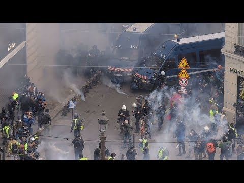 Round 4 Yellow Vests protest in Paris (Pt.2)