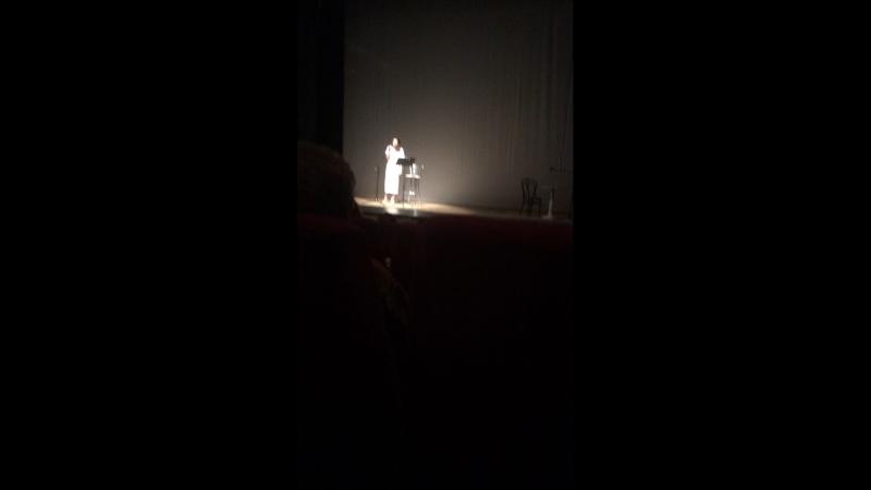Творческий вечер Ксении Лавровой-Глинки. 😻💕