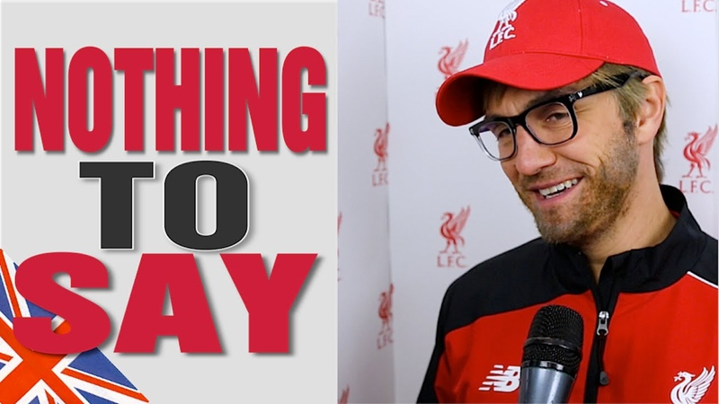 Chelsea 1-3 Liverpool - Klopp imitates Mourinho's Post Match Interview Nothing to say