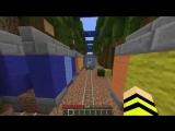 САБВЕЙ СЕРФ в Майнкрафт Челлендж прохождение игра жесткая ловушка на карте в Minecraft Subway Surf