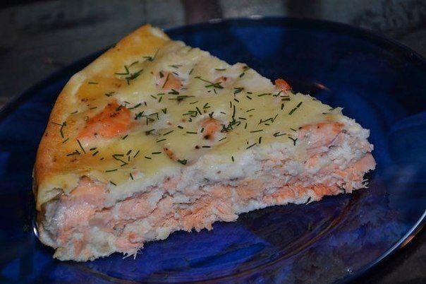 быстрый пирог с семгой ингредиенты:- 2 яйца- 6 ст.л. муки- 1 ст. молока- 150 г майонеза- сода- 0,4 кг филе сёмги- соль, перецприготовление:1. смешать до однородности 2 яйца, 6 ст.л. муки, 1
