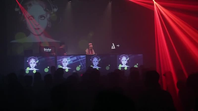 Marika Rossa closing set at Contact Festival Munich 2016 in Zenith hallen, Germany