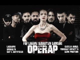 Larage Feat. Shurikn x Sat x Cécilia Arbel x Lacraps x Demi Portion x Swatts - Seb Damiani-Faf  [OKLM Russie]