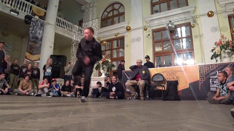 GOLDY judje showcase OZR DANCE FEST 2018 anniversary 10