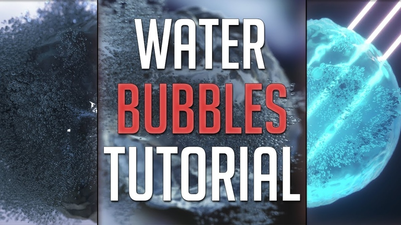 How To Make Exploding Water Bubbles In Cinema 4D Octane Scatter (Tutorial)