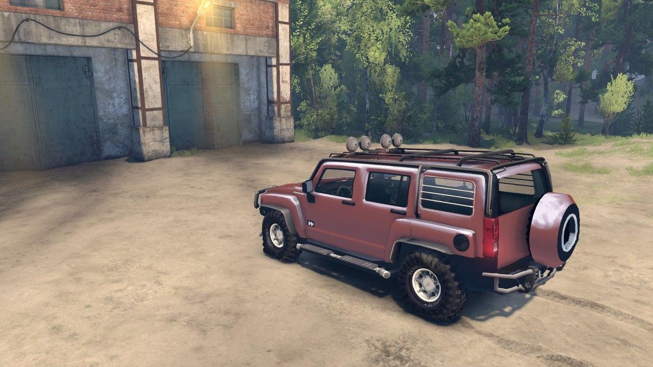 Hummer h3 для Spintires - Скриншот 3