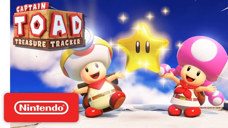 Captain Toad: Treasure Tracker Gameplay Trailer - Nintendo Switch