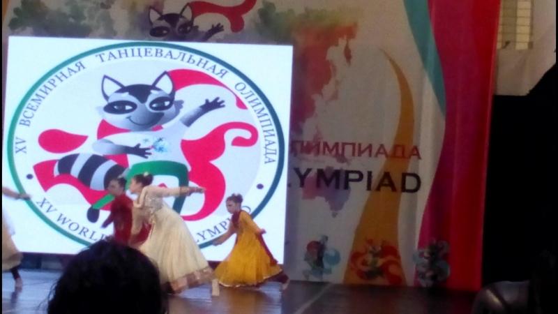 индийский танец Udi udi jaya