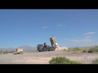 Учебные пуски систем ПВО ближнего радиуса действия на полигоне White Sands