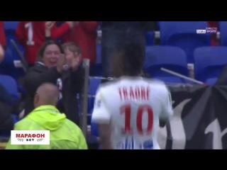 Лион 3:0 Амьен | Траоре