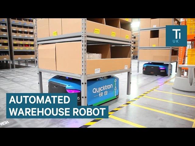 Alibaba: внутри умного склада с роботами