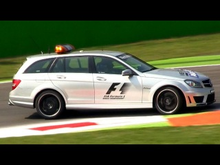The Best Sounding Emergency Vehicle: The Mercedes C63 AMG F1 Medical Car.