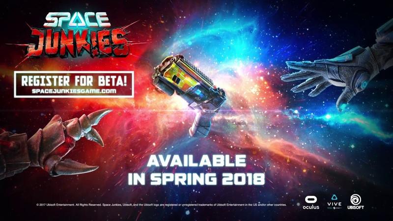 Space Junkies - Official Trailer - VR Arcade Shooter   Trailer   Ubisoft [NA]