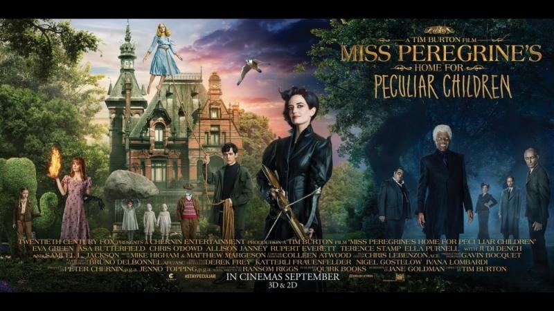 Новинки кино: Дом странных детей мисс Перегрин (фэнтези, драма, приключения, семейный)