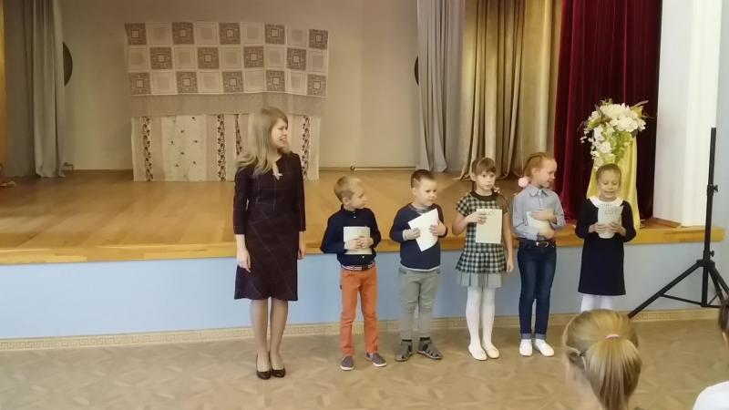Выступление наших маленьких студентов в Ворсме