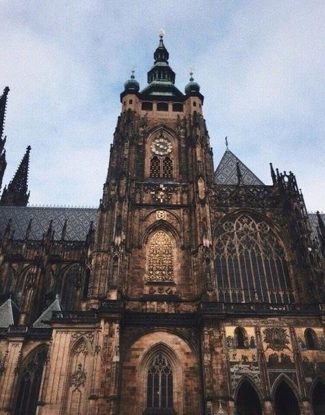 Очарование и мистика готической Праги. Чехия.