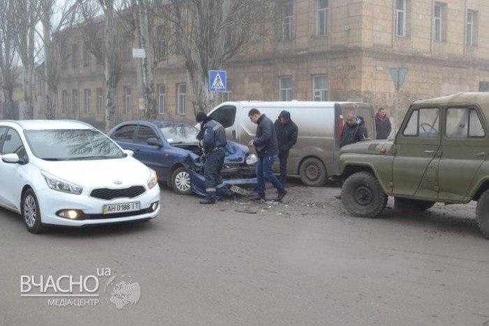 УАЗ vs Daewoo в дтп