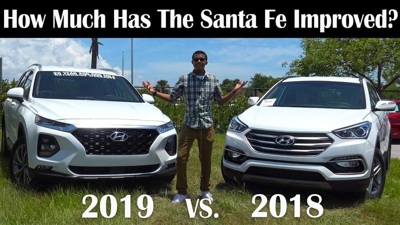 2019 vs. 2018 Hyundai Santa Fe Comparison Review | Which is the Better SUV? New vs. Old | In 4K UHD!
