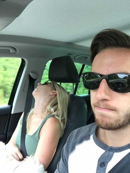 С женой всегда весело путешествовать