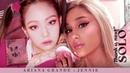 Ariana Grande JENNIE - THANK YOU, SOLO Thank you, next x Solo 💋 (Mashup) | MV