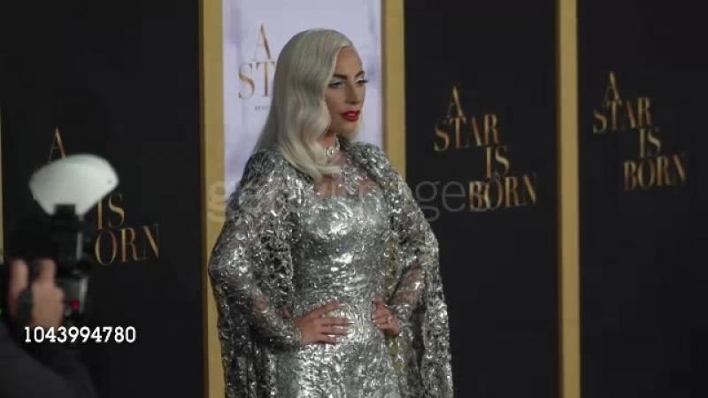 Леди Гага на премьере «Звезда родилась» в Лос-Анджелесе (24.09.2018)