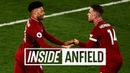 Inside Anfield Liverpool 5 0 Huddersfield Alex Oxlade Chamberlain returns to action