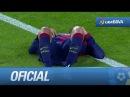 Doble chut a bocajarro de Jordi Alba y paradón de Casilla