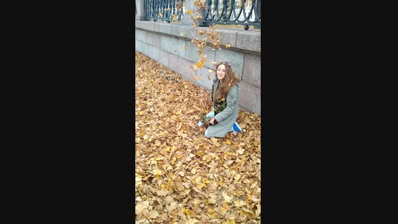 Дэвушка-осень